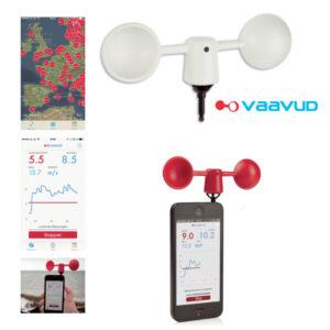 anémomètre pour smartphone et Iphone