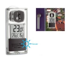 Thermomètre de fenêtre solaire