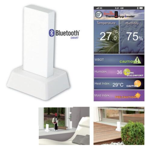 Thermo-hygromètre bluetooth pour smartphone