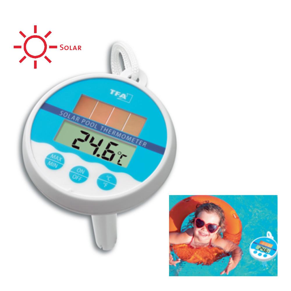 Thermomètre de piscine solaire   Sanapra - Matériel de mesures ... b28840a56ec5