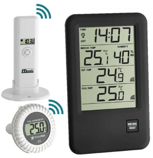 "Thermomètre de piscine Radio piloté "" Malibu""   Sanapra - Matériel ... 0d55f8c0b9cc"