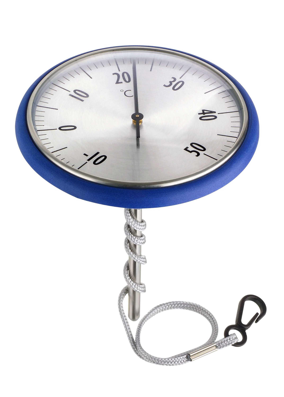 Thermomètre de piscine acier inoxydable, robuste, flottant   Sanapra ... 884c190c06a6